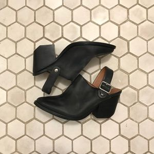 Jeffrey Campbell Black Clogs Size 6.5
